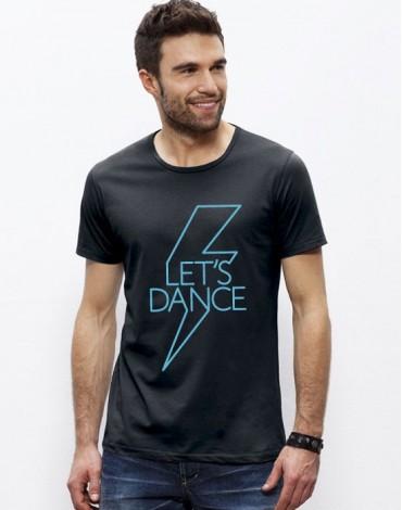 Large Neck T-Shirt Let's Dance