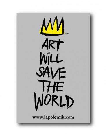 Sticker Art Will Save The World