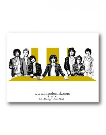 Sticker La Cène Rock