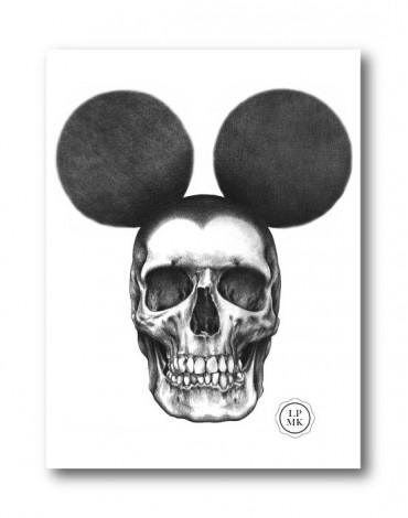 Sticker Dead Mouse