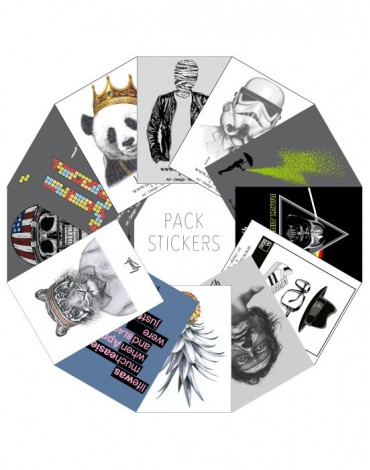 Pack 23 Stickers
