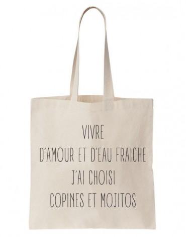Tote Bag Copines Et Mojitos