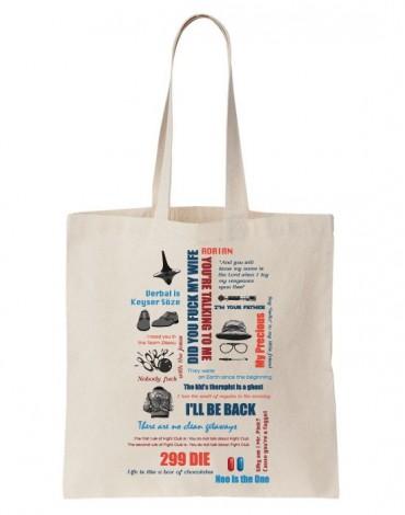 Tote Bag Fan De Cinema
