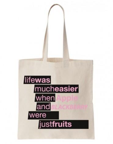 Tote Bag Just Fruits