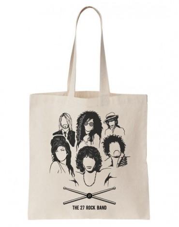 Tote Bag The 27 Rock Band