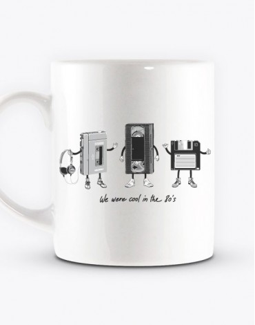 Mug The 80's Technology