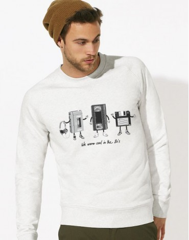 Sweat-Shirt The 80's Technology