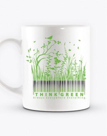 Mug Think Green