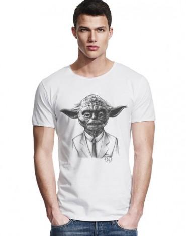 Large Neck T-Shirt Yoda