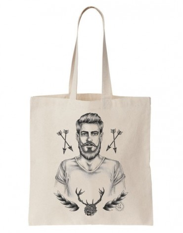Tote Bag Hipster For Life