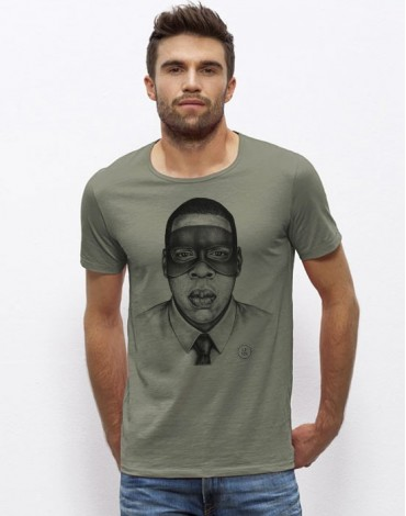 T-Shirt Col Large Jay Z