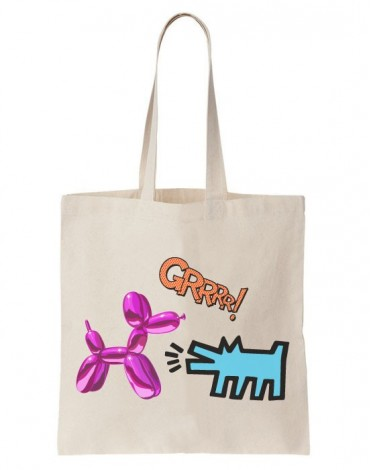 Tote Bag Art Dogs