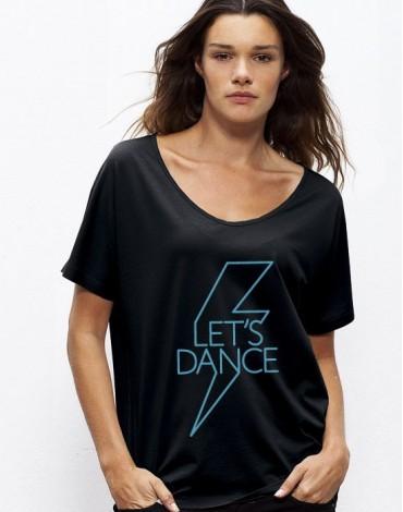 T-Shirt Ample Oversize Let's Dance