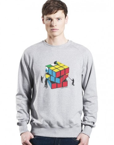 Sweat-Shirt Le Cubisme