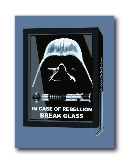 Sticker In Case Of Rebellion