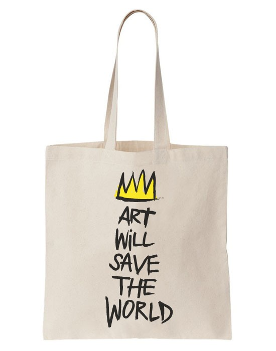 Tote bag art will save the world