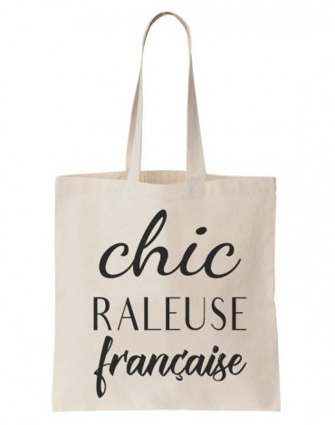 Tote Bag Chic Raleuse Française