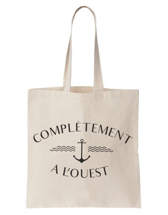 Tote Bag Complètement A L'Ouest