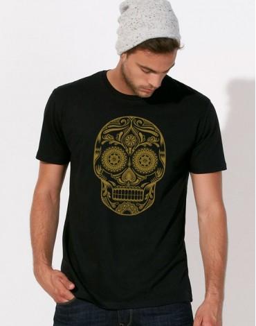 T-Shirt Golden Skull