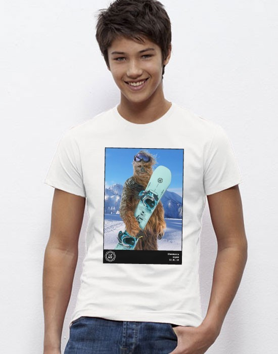 T-Shirt The Snowboarder