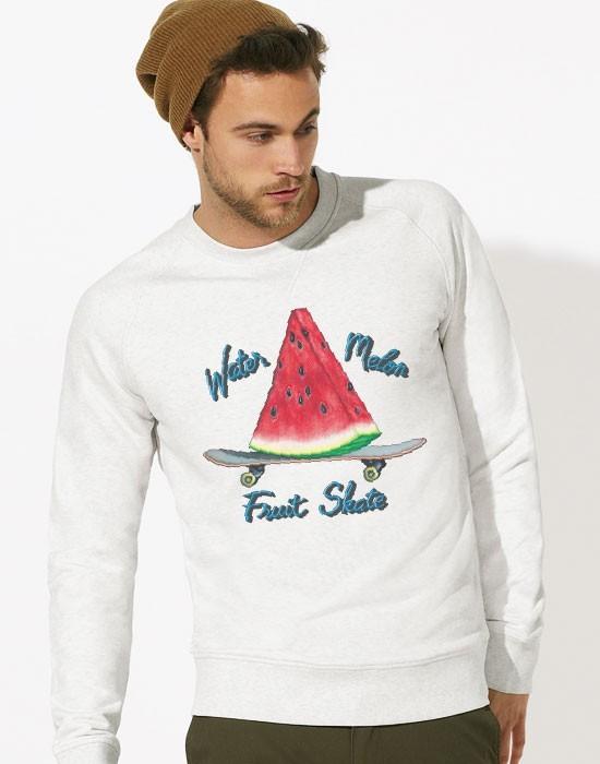Sweat-Shirt Watermelon Fruit Skate