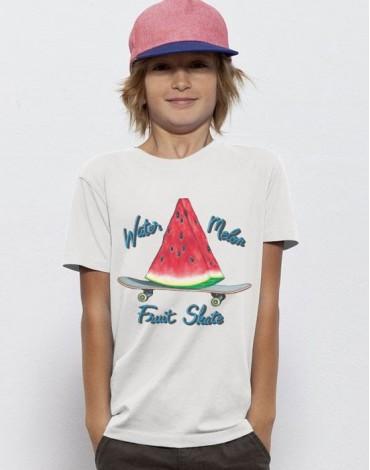 T-Shirt Watermelon Fruit Skate