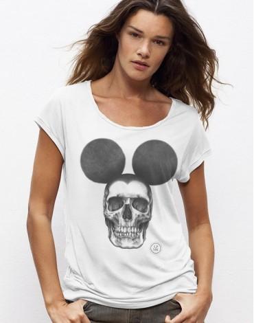 T-Shirt Col Bateau Dead Mouse