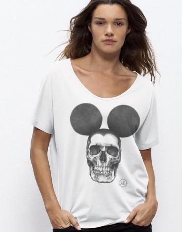 T-Shirt Ample Oversize Dead Mouse