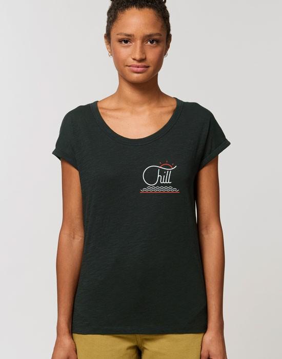T-Shirt Col Bateau Chill