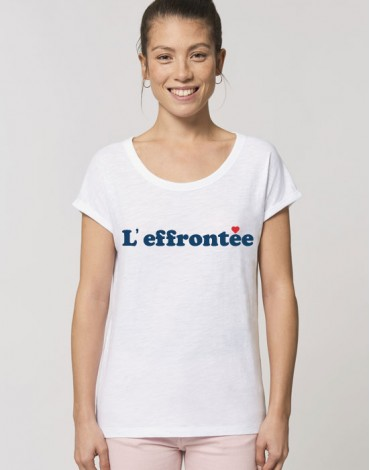 T-Shirt Col Bateau L'Effrontée