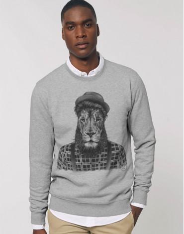 Sweat-Shirt Lion Hipster