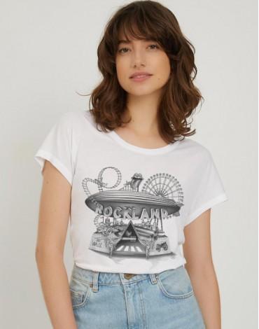T-Shirt Col Bateau Rockland