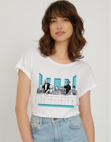 T-Shirt Col Bateau La Cène Cinéma