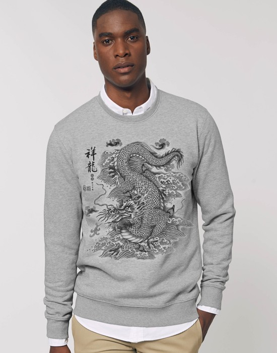 Sweat-Shirt Chinese Dragon