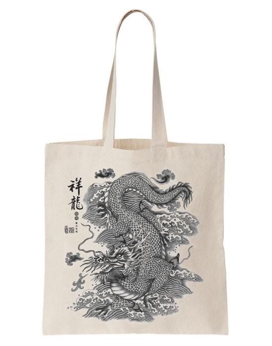 Tote Bag Chinese Dragon