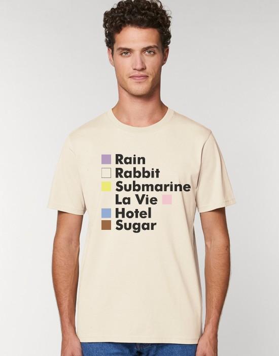 T-Shirt Les Chansons En Couleur