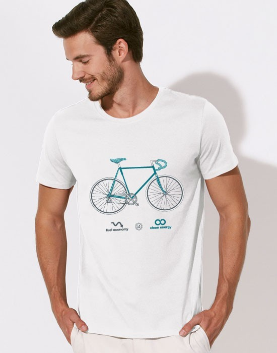 T-Shirt A Bicyclette