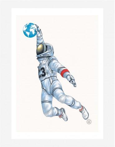 Poster A4 Air Space