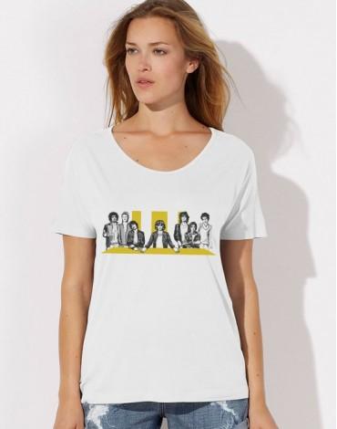 T-Shirt Ample Oversize La Cène Rock