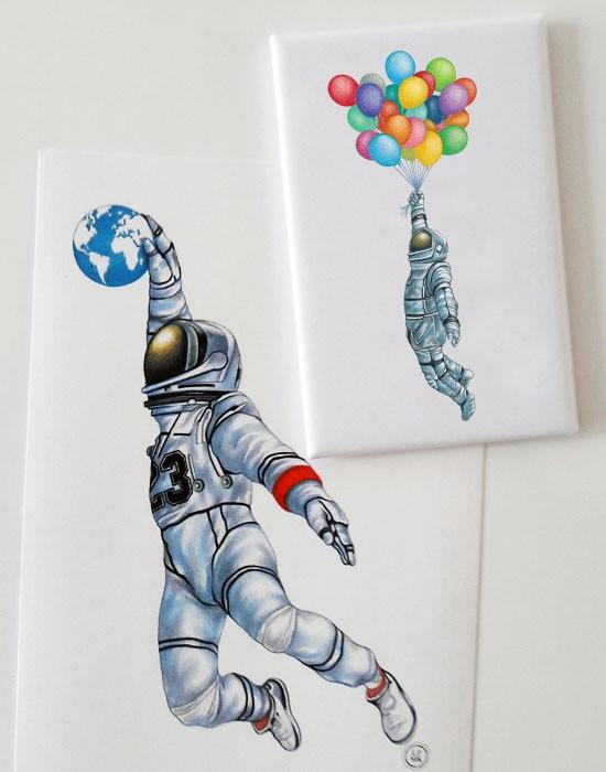 Magnet Cosmonaute