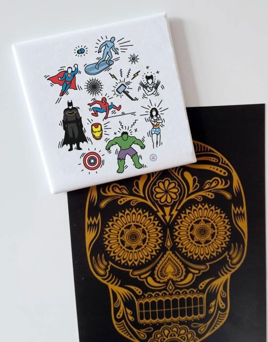 Magnet Pop Art Heroes