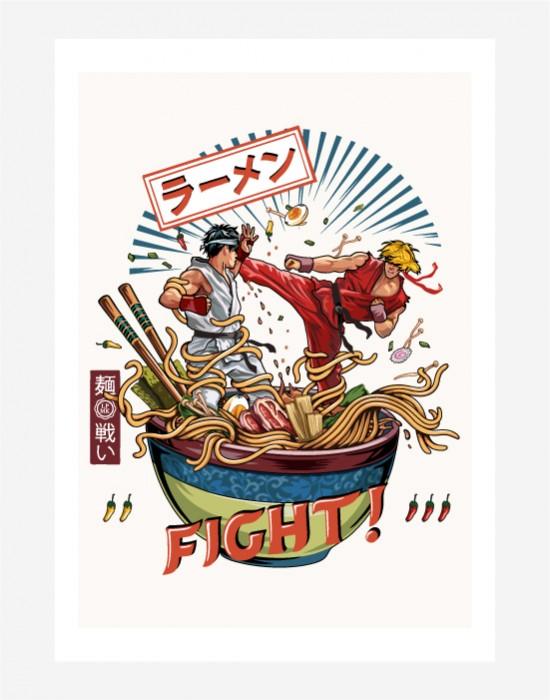 Poster Noodle Fighter