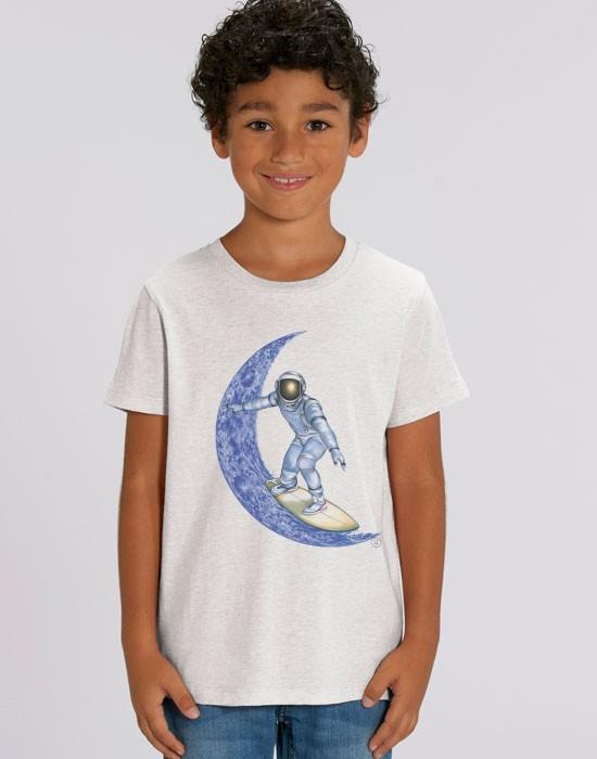 T-Shirt Moon Surfer