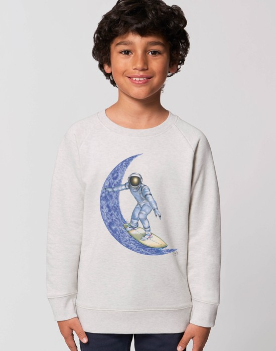 Sweat-Shirt Moon Surfer