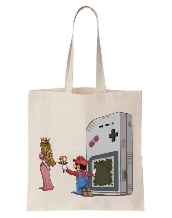 Tote Bag Bye Bye Mario
