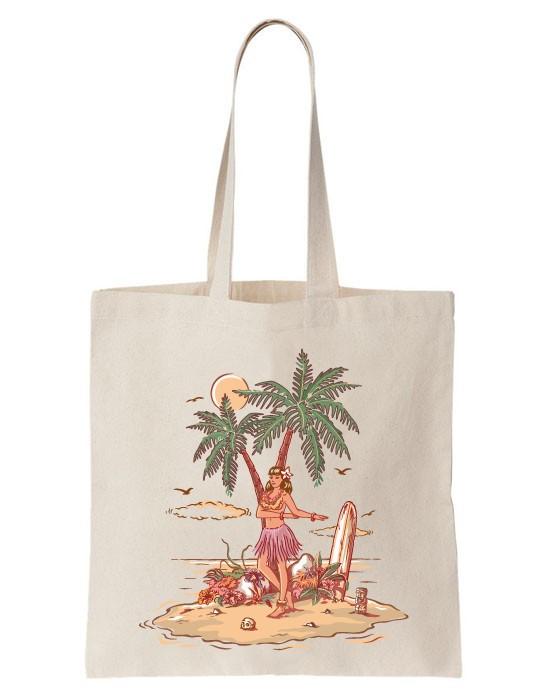 Tote Bag Hawaienne