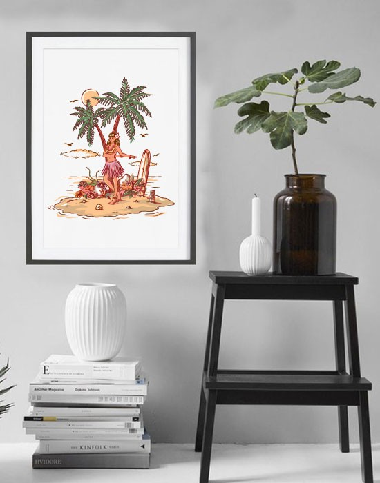 Poster Hawaienne