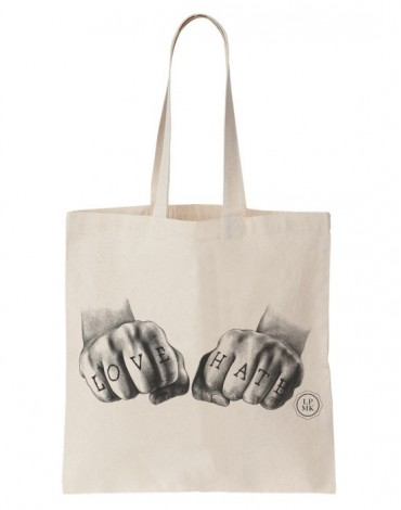 Tote Bag Love Hate
