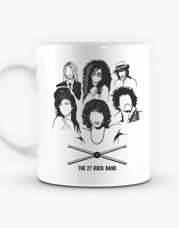 Mug The 27 Rock Band