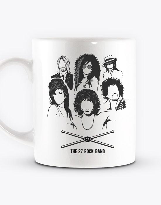 Mug The 27 Rock Band